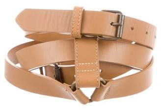 Derek Lam Leather Buckle Belt