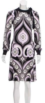 Emilio Pucci Silk Midi Dress