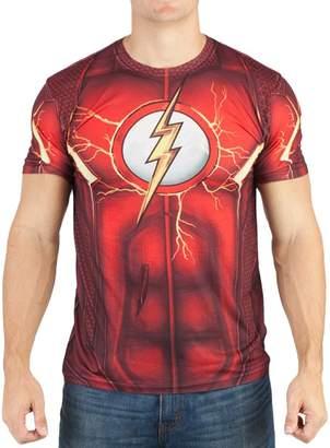Bioworld DC Comics Mens Flash Suit Up Sublimated Costume T-Shirt