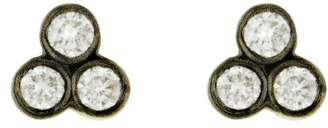 Yannis Sergakis Adornments Charnières Diamond Trio Stud Earrings