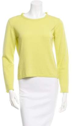 Burberry Long Sleeve Scoop Neck Sweater
