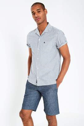 Jack Wills Billows Short Sleeve Stripe Shirt