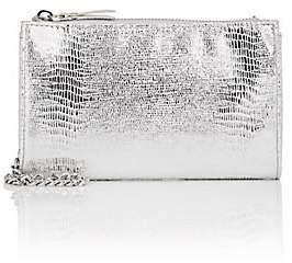 Barneys New York WOMEN'S HANNAH METALLIC CROSSBODY BAG