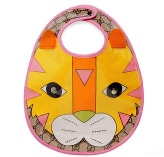 Gucci Baby tiger motif bib