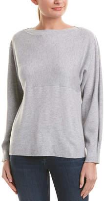 Vince Side Slit Wool & Cashmere-Blend Sweater