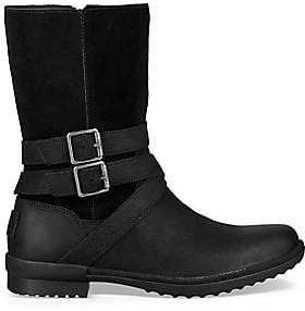 UGG Women's Women's Lorna Faux Fur Leather and Suede Boots