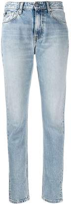Calvin Klein Jeans faded slim fit jeans