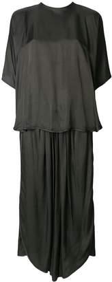 Henrik Vibskov double layer asymmetric dress