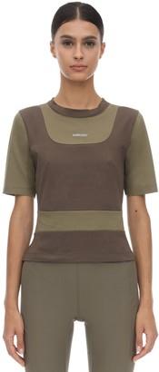 Ambush Fitted Cotton Jersey T-shirt