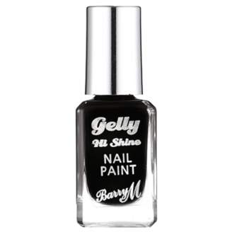 Barry M Gelly Nail Paint - 39 Black Currant