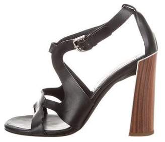 Stella McCartney Vegan Leather Cutout Sandals