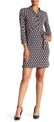 Donna Morgan Shirt Dress With Belt