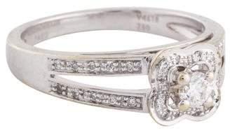 Mauboussin 18K Diamond Chance of Love N°1 Ring
