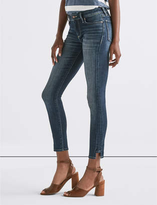 Lucky Brand Stella Low Rise Skinny Jean with Hem Dart