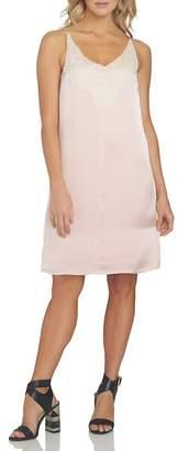 1 STATE 1.State Lace Detail Shift Dress