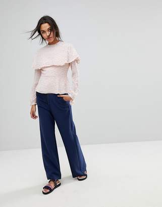 Max & Co. Max&Co Wide Leg Zip Pants