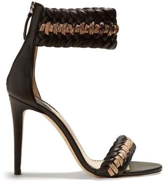 Altuzarra Gihanda braided-detailed heeled sandals