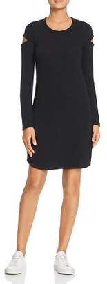 Rob-ert Robert Michaels Long-Sleeve Cutout Dress