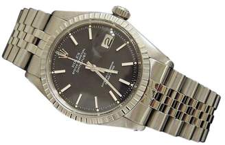 Rolex Datejust 1603 Stainless Steel Jubilee With Black Dial Mens Watch $2,600 thestylecure.com