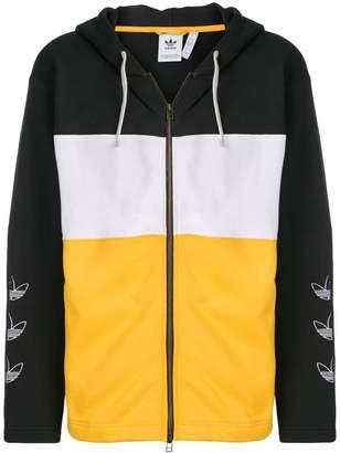 adidas multicoloured hoodie