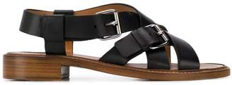 Church's crossed strap sandals