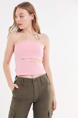 4b8eada414 Pink Sleeveless Tube Top - ShopStyle