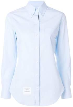 Thom Browne button-down slim fit shirt