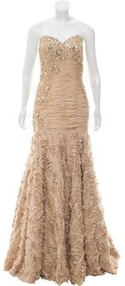 Jovani Embellished Strapless Gown w/ Tags