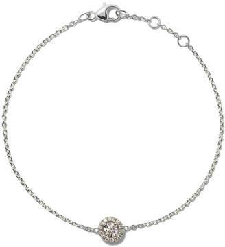 De Beers 18kt white gold My First Aura round brilliant cut diamond bracelet