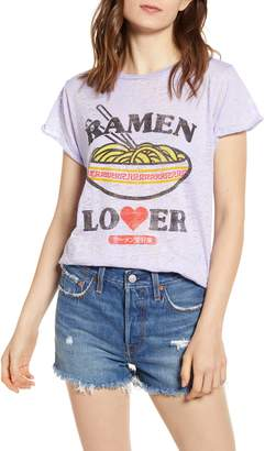 232c45cef Project Karma Ramen Lover Burnout Graphic Tee