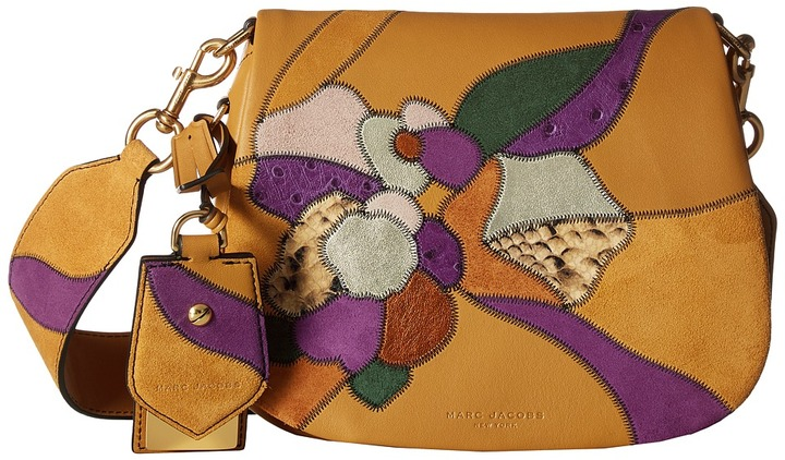 Marc JacobsMarc Jacobs - Patchwork Flowers Small Nomad Handbags