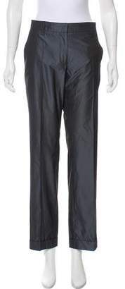 RED Valentino Mid-Rise Straight-Leg Pant