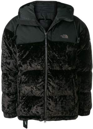 The North Face zipped padded jacket