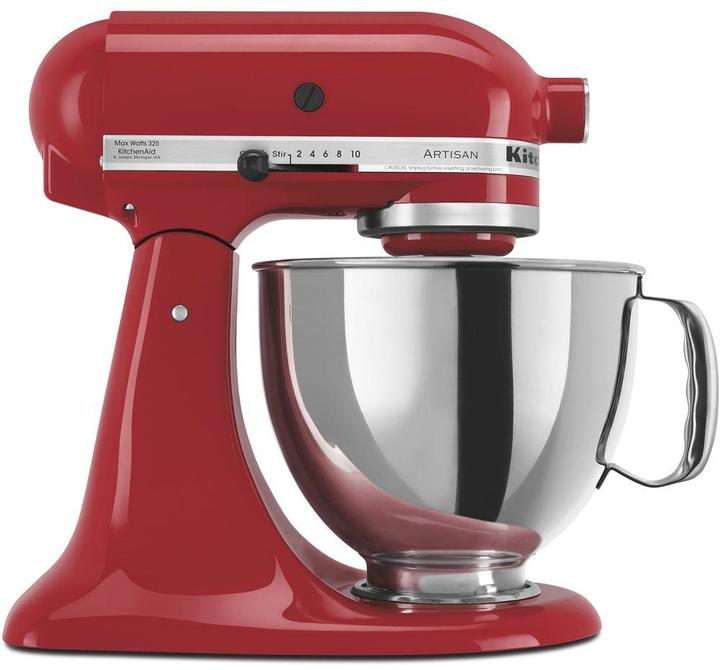 KitchenAid Artisan Series 5 Qt. Stand Mixer in Empire Red