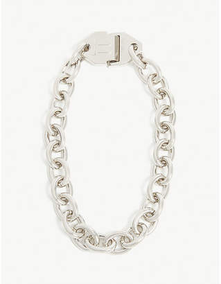 Off-White Metal chain necklace