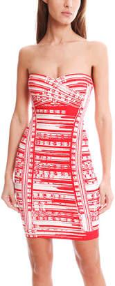 Herve Leger Maricel Strapless Dress