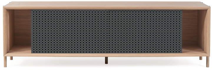 Hartô - Gabin Sideboard 162 cm, eiche / anthrazitgrau (RAL 7016)