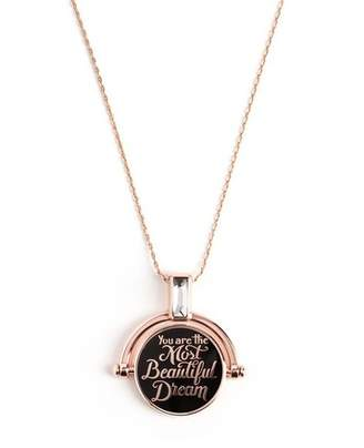 Alex and Ani Most Beautiful Dream Spinner Pendant Necklace