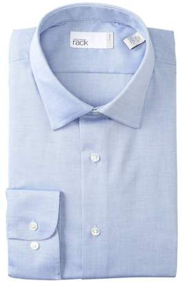 Nordstrom Rack Solid Non-Iron Traditional Fit Dress Shirt