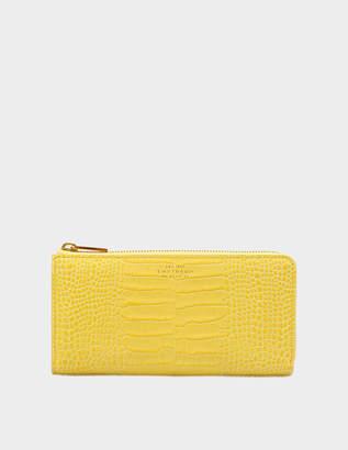 Smythson Mara Large zip purse