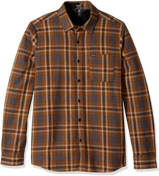 Volcom Men's Marcos Long Sleeve Flannel