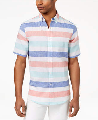 Club Room Men Wide Striped Shirt