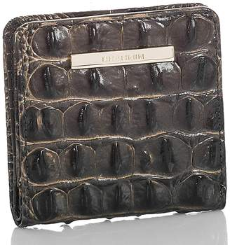 Brahmin Jane Croc Embossed Leather Wallet