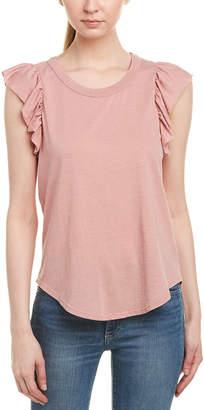 Chaser Ruffle Shirttail T-Shirt