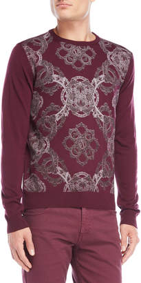 Versace Printed Sweater