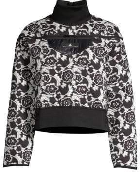 adidas by Stella McCartney Floral Run Sweater