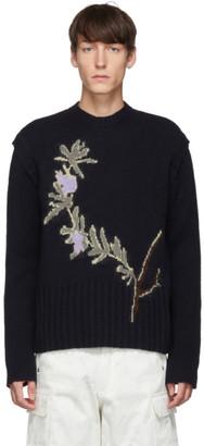 Jacquemus Navy La Maille Romarin Sweater