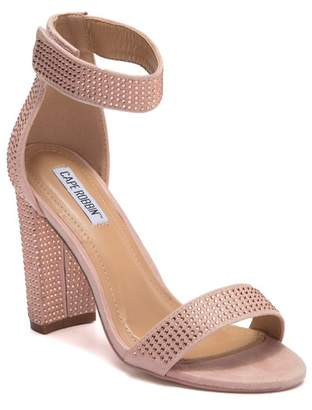 4928a8967 Cape Robbin Karma Block Heel Studded Sandal