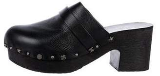 Chanel Lucky Charms Platform Clogs