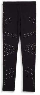 Design History Girl's Beaded Leggings